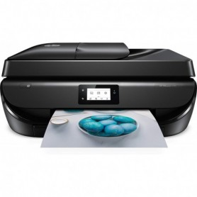 HP Officejet 5230 - Impresora multifunción inalámbrica  tinta, Wi-Fi, copiar, escanear, impresión a doble cara, 1200 x 1200 p
