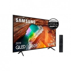 "Samsung QLED 4K 2019 43Q60R - Smart TV de 43"" con Resolución 4K UHD, Supreme Ultra Dimming, Q HDR, Inteligencia Artificial 4K"