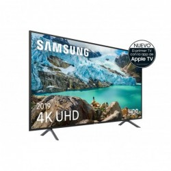 "Samsung 4K UHD 2019 65RU7105 - Smart TV de 65"" con Resolución 4K UHD, Ultra Dimming, HDR  HDR10+ , Procesador 4K, One Remote"