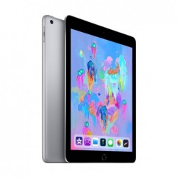 "Tablet Apple iPad 9.7  2018 , Color Gris  Grey , Banda Wi-Fi, 32 GB de Memoria Interna, Pantalla de 9,7"", Sistema iOS, Nuevo,"