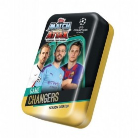 Topps- Match Attax-Juego UEFA Champions League 2019/20  60 Cartas Incluidas , Color  C2U-MD1020.T01