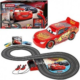Carrera- Disney-Pixar Cars Juego con Coches, Multicolor  Stadlbauer 1