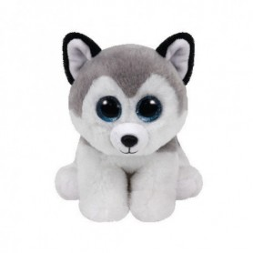 TY - Beanie Babies Buff, peluche husky, 15 cm  United Labels Ibérica 42183TY  , Modelos/colores Surtidos, 1 Unidad