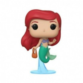 Funko- Pop Figura de Vinilo: Disney: Little Mermaid-Ariel w/Bag Coleccionable, Multicolor, única  40102