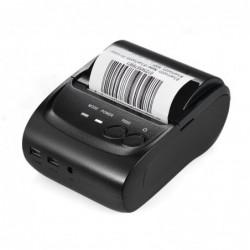 KKmoon POS-5802DD Mini impresora térmica Receipt Ticket en BT 4.0 + USB, POS impresión para iOS/Android/Windows
